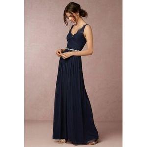 NWT NAVY FLEUR DRESS